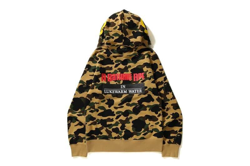 BAPE 1st Camo Fish Full Zip Hoodie fashion 2018 april 14 release date info drop