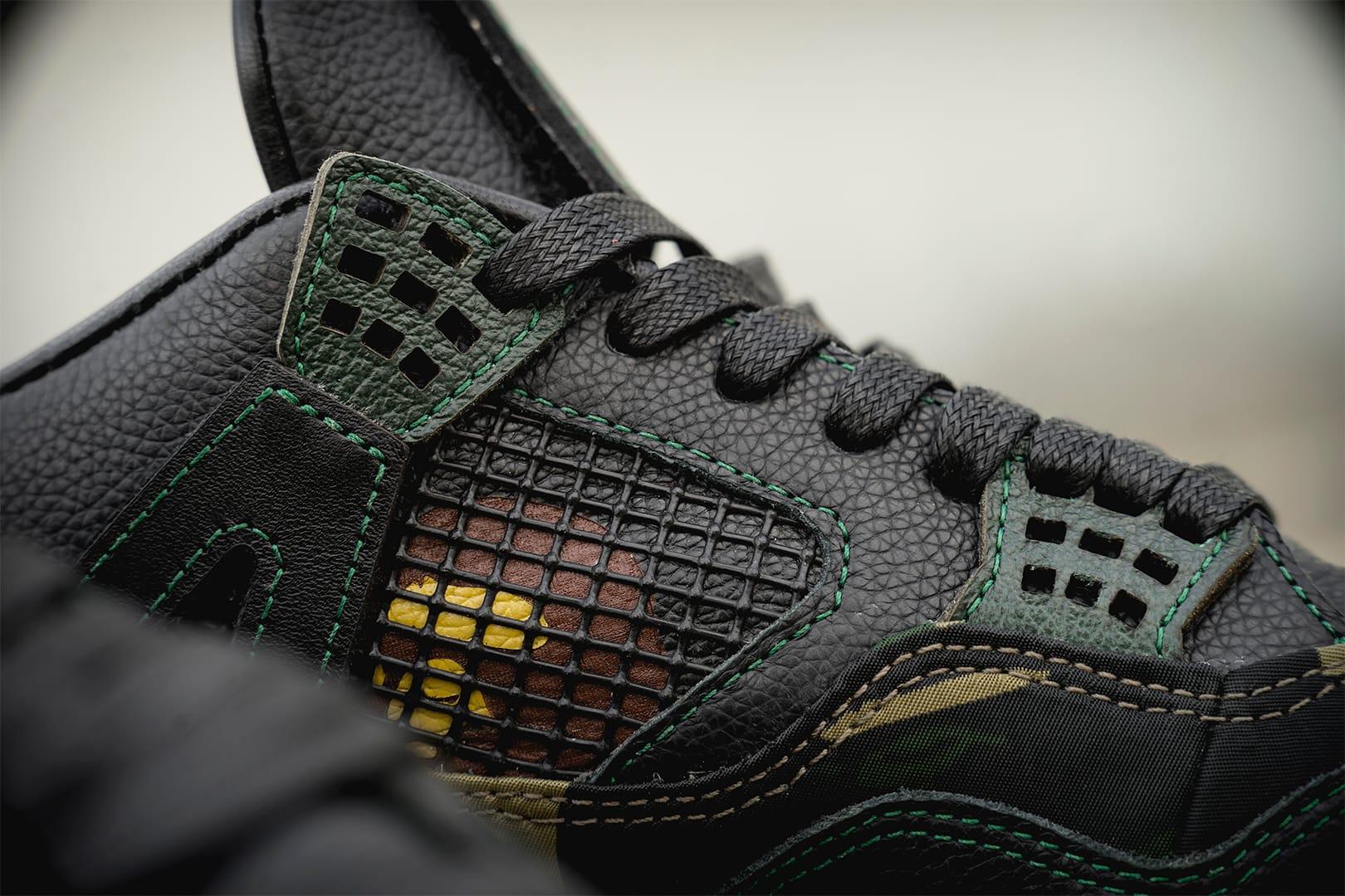 BAPE x Air Jordan 4 GORE-TEX BespokeIND