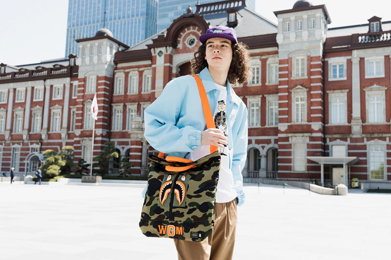 BAPE Porter Stand Collaboration spring summer 2018 ss18 release date info drop camo trunk show april may A Bathing Ape