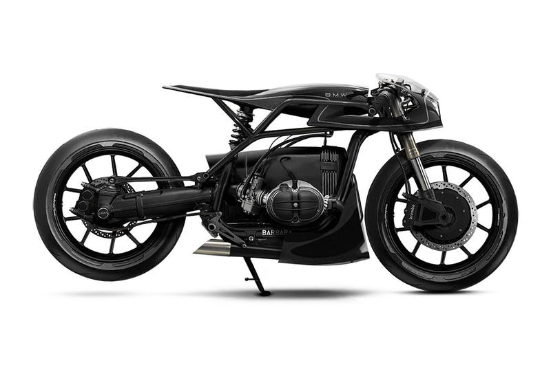 Barbara Customs Black Mamba BMW R80 R-Series Motorcycle Custom Design Concept Innovative