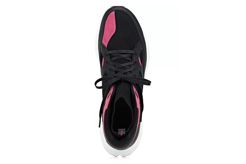 Brandblack Barneys New York Aura release info Black Pink Grey Navy Burgundy footwear sneakers