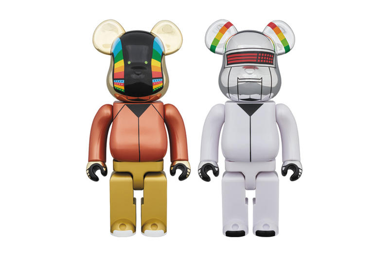 Bearbrick Daft Punk Discovery Release Medicom Medicom Toy 2 two Pack Random Access Memories 2018 april info drop
