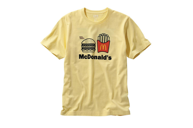 Mcdonalds Uniqlo UT Big Mac Collaboration 50th anniversary collection japan april 2018 drop release info coupon meal sandwich t tee shirts