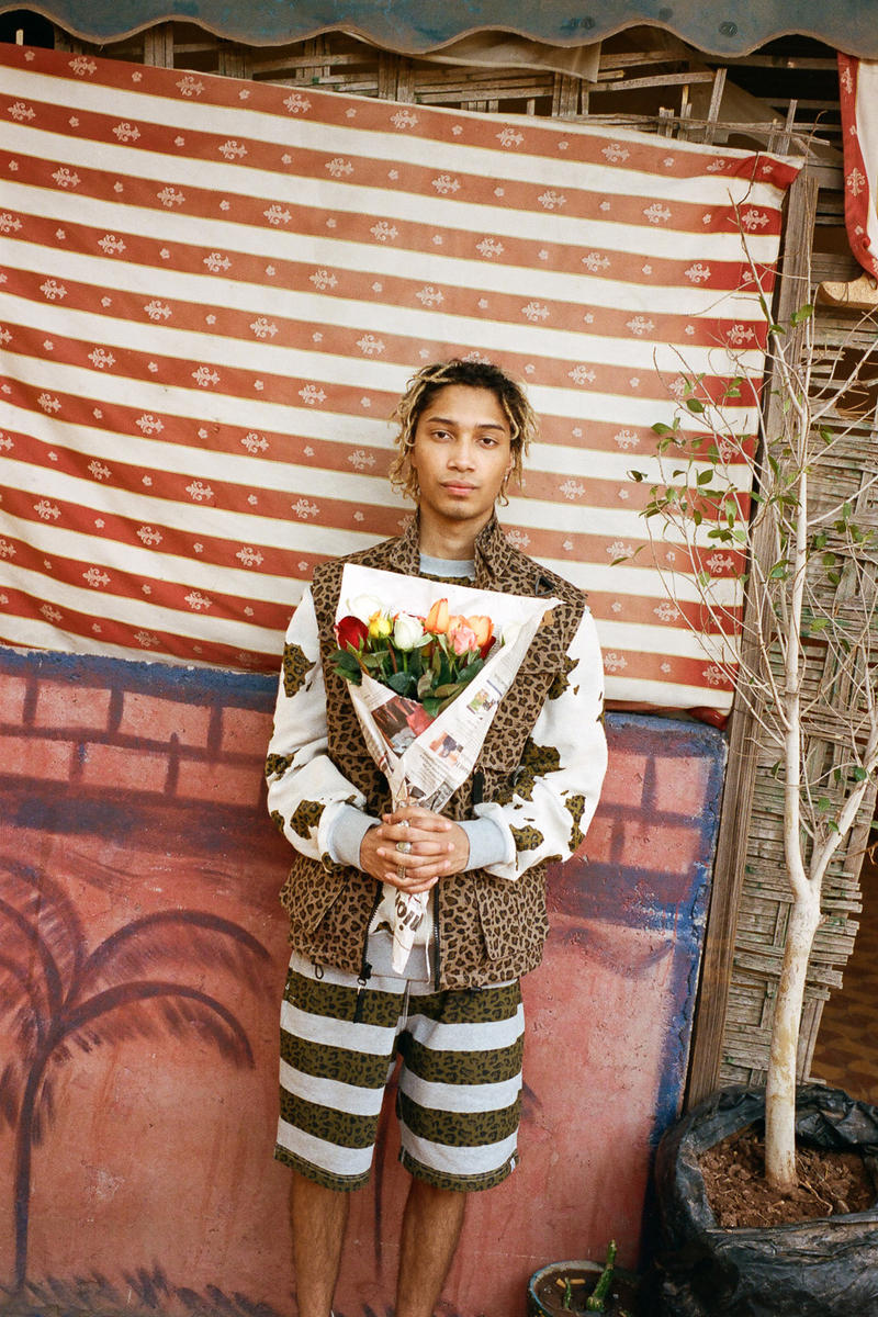 """Billionaire Boys Club """"Egyptian Lover"""" Fall 2018 Lookbook Pharrell Williams All Over Map Prints Practical Outwear Sailing Jackets Beach Pants Bright Rainbow Tie-dye Military Jungle Pieces Ripstop Nylon M-65 Field Shirts Cargo Shorts Tracksuits Co-ord Sweats Safari Style Vest"""