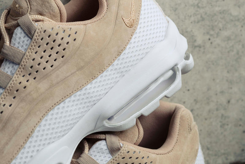 Billys Nike AIR MAX 95 ULTRA PRM BREATHE collaboration exclusive japan tokyo may 3 2018 BLK VACHETTA TAN spring summer drop release date info closer official look