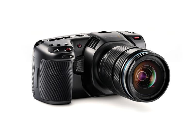 blackmagic pocket cinema camera 4k black release info HDR sensor dslr