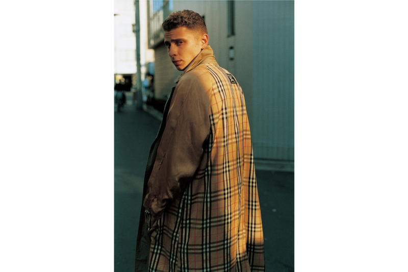 blondey mccoy grind magazine next vintage editorial fred perry thames london burberry raf simons fashion luxury designer