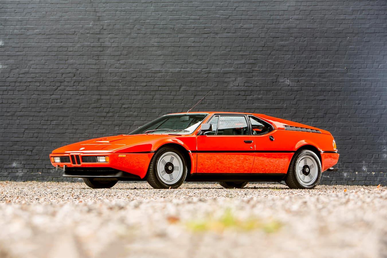 Bmw M1 Orange Classic Coupe 1980 Auction Hypebeast