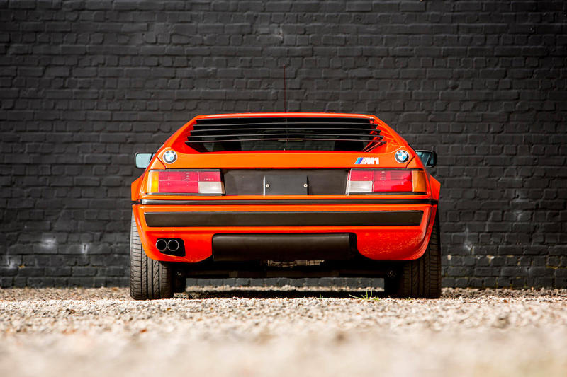 BMW M1 classic coupe orange car vintage rare auction price 1980 automobile bonhams