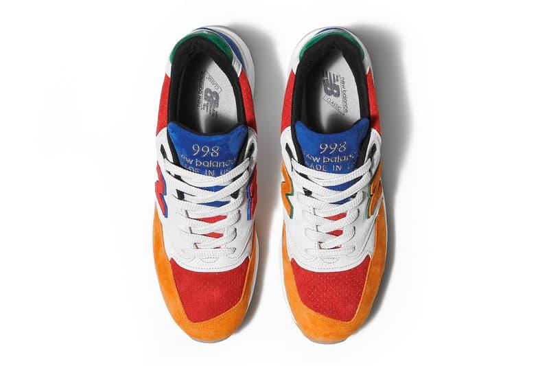 Bodega New Balance 998 Mass Transit Release date NB1 sneaker boston limited edition multicolor