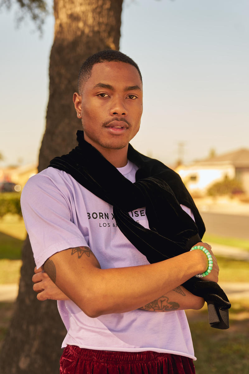 BornxRaised Steve Lacy The Internet Spring/Summer 2018