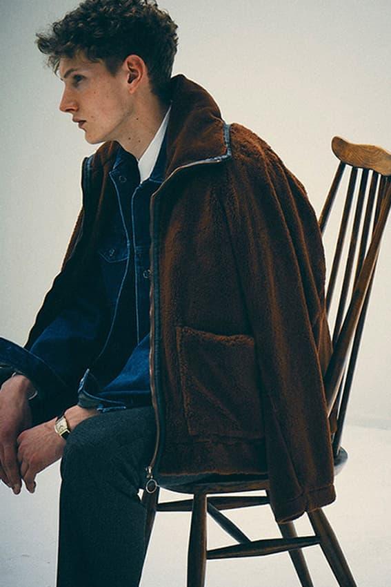 Bukht Fall/Winter 2018 Collection Lookbook Tetsuya Hashimoto jackets shirts pants sweaters hat accessories