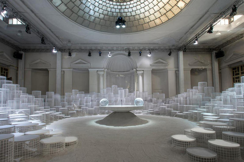 Caesarstone Snarkitecture Milan Design Week 2018 installation design furniture interior