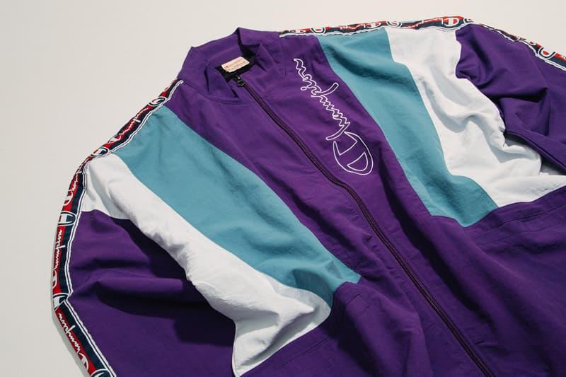 Champion Reverse Weave Track Suit at HBX
