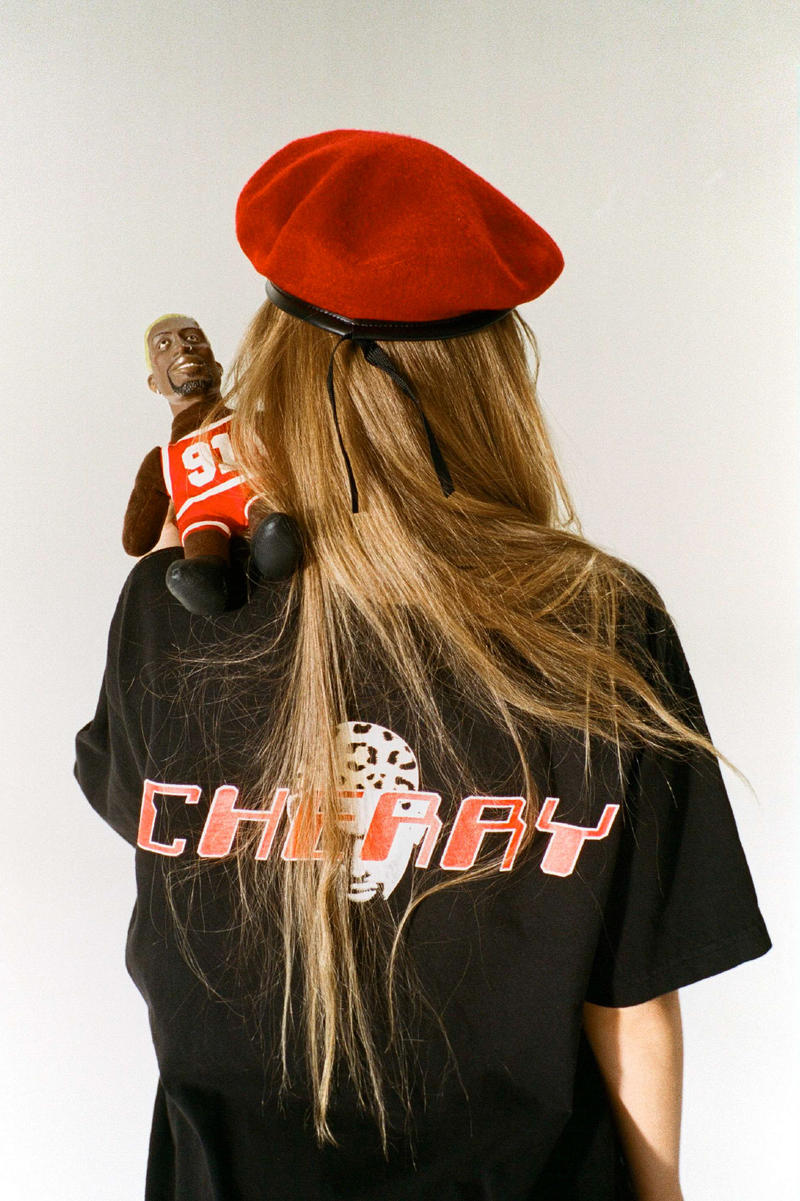 Cherry Los Angeles MICRO-DOSE Collection fairfax pop-up carmen electra dennis rodman porsche smiley face