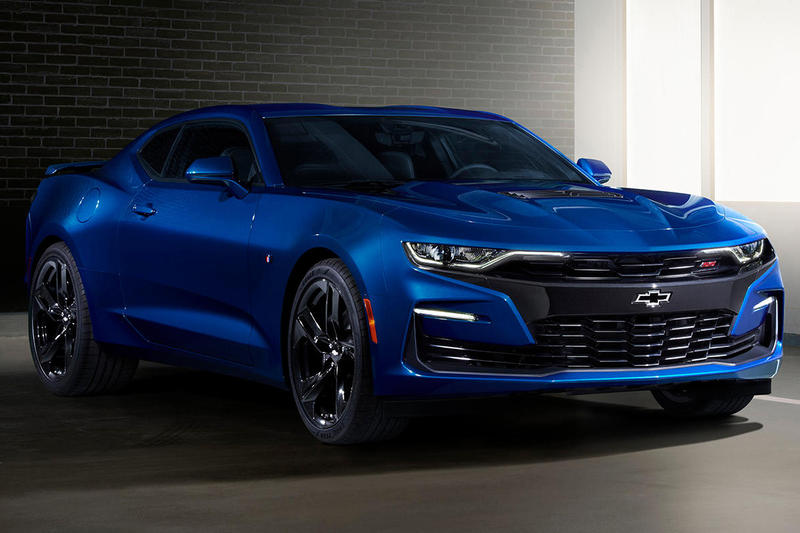 Chevrolet Camaro 2019 Car Turbo 1LE Model 2.0L Turbocharged Engine Six-Speed Manual Standard V6 Powered 1LE Improved Rear Camera Forward Collision Alert Enhanced Performance Data Recorder System