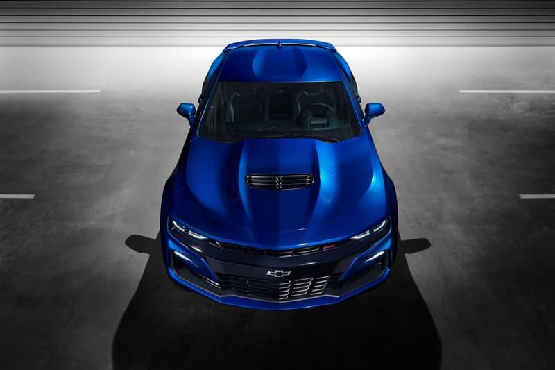 Chevrolet Camaro 2019 Car Turbo 1LE Model 2.0L Turbocharged Engine Six-Speed Manual Standard V6 Powered 1LE Improved Rear Camera Forward Collision Alert Enhanced Performance Data Recorder System