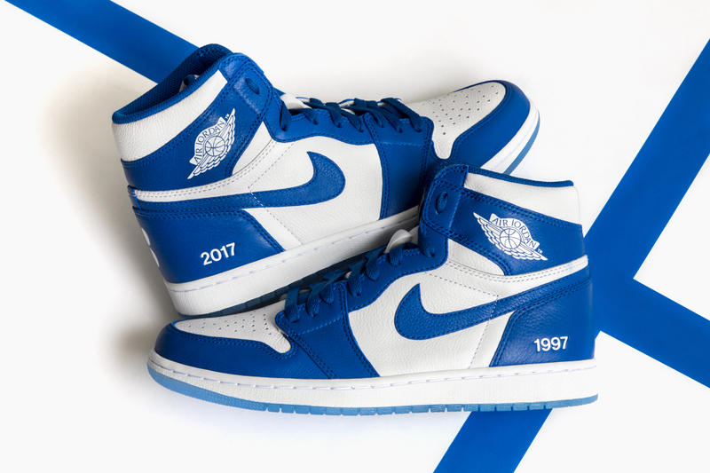 Colette Air Jordan 1 Au Revoir Nike Jordan Brand Michael Jordan Sneakers Kicks Colette Paris Rare Sneakers Stock x Friends and Family Sarah Andelman Colette Roussaux