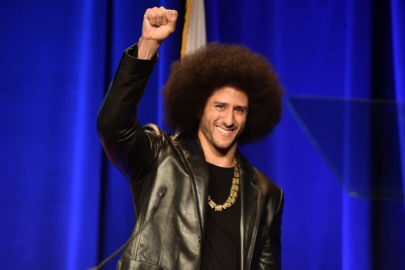 Colin Kaepernick Receives Amnesty international award San Francisco 49ers quarterback Ambassador of Conscience Award