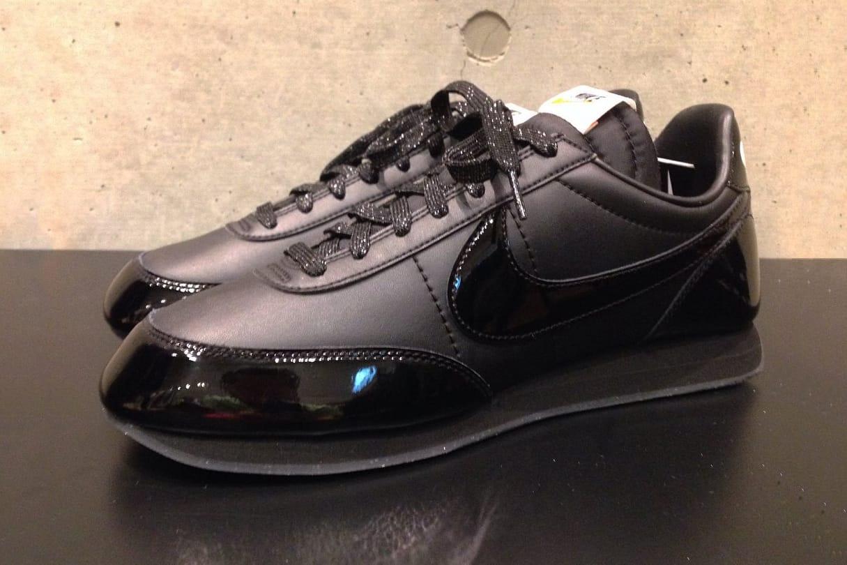 Black x Nike Night Track Shoe