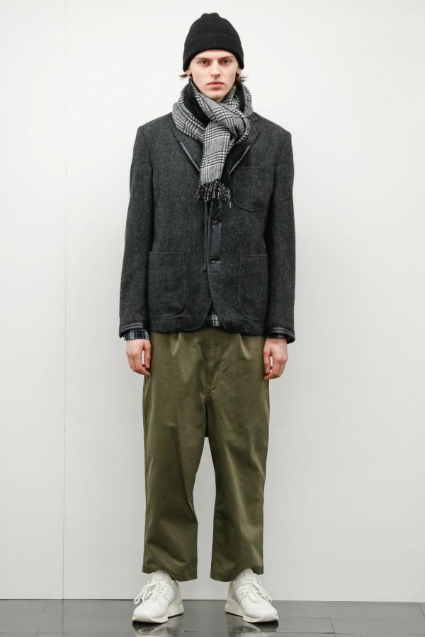 COMME des GARÇONS HOMME Fall/Winter 2018 Collection military streetwear japanese fashion