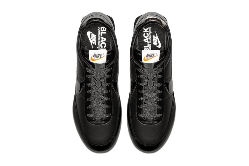 COMME des GARÇONS Black Nike Night Track release info sneakers footwear
