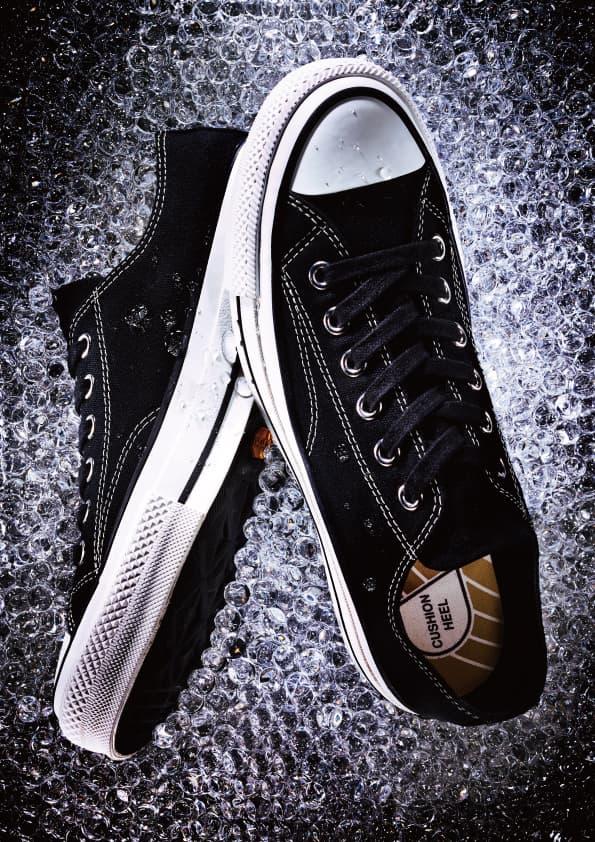 Converse Addict GORE-TEX Spring 2018 Collection Black White Multicolor High low