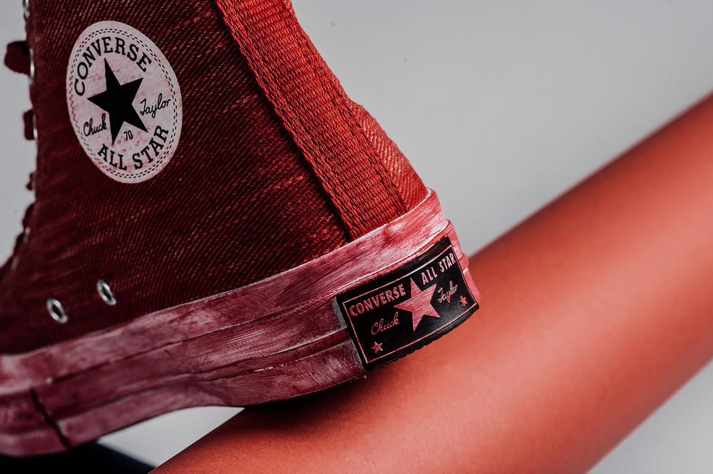"""Converse Chuck Taylor 70 Hi """"Overdyed Wash"""" pack release date available now All Star"""