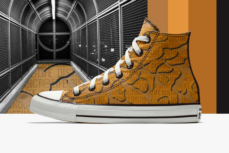 The DISTINCT LIFE  Converse Chuck Taylor New Collaboration spring summer 2018 april release date info drop sneakers shoes footwear black mustard colorway