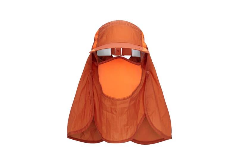Cottweiler x Reebok Orange Sahara Hat headwear fashion spring summer Marathon Des Sable accessories Sahara Desert sun summer