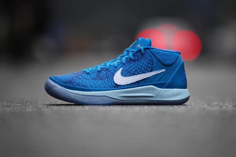 the latest 0b92b 496a8 DeMar DeRozan Nike Kobe A.D. Mid PE player exclusive sneakers footwear