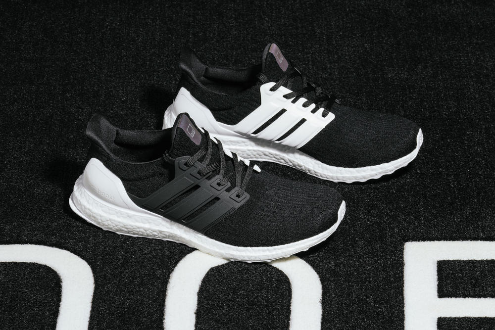 DOE adidas UltraBOOST XENO collaboration black white april may 2018 release date info drop sneakers shoes footwear miadidas 100 pairs limited shanghai