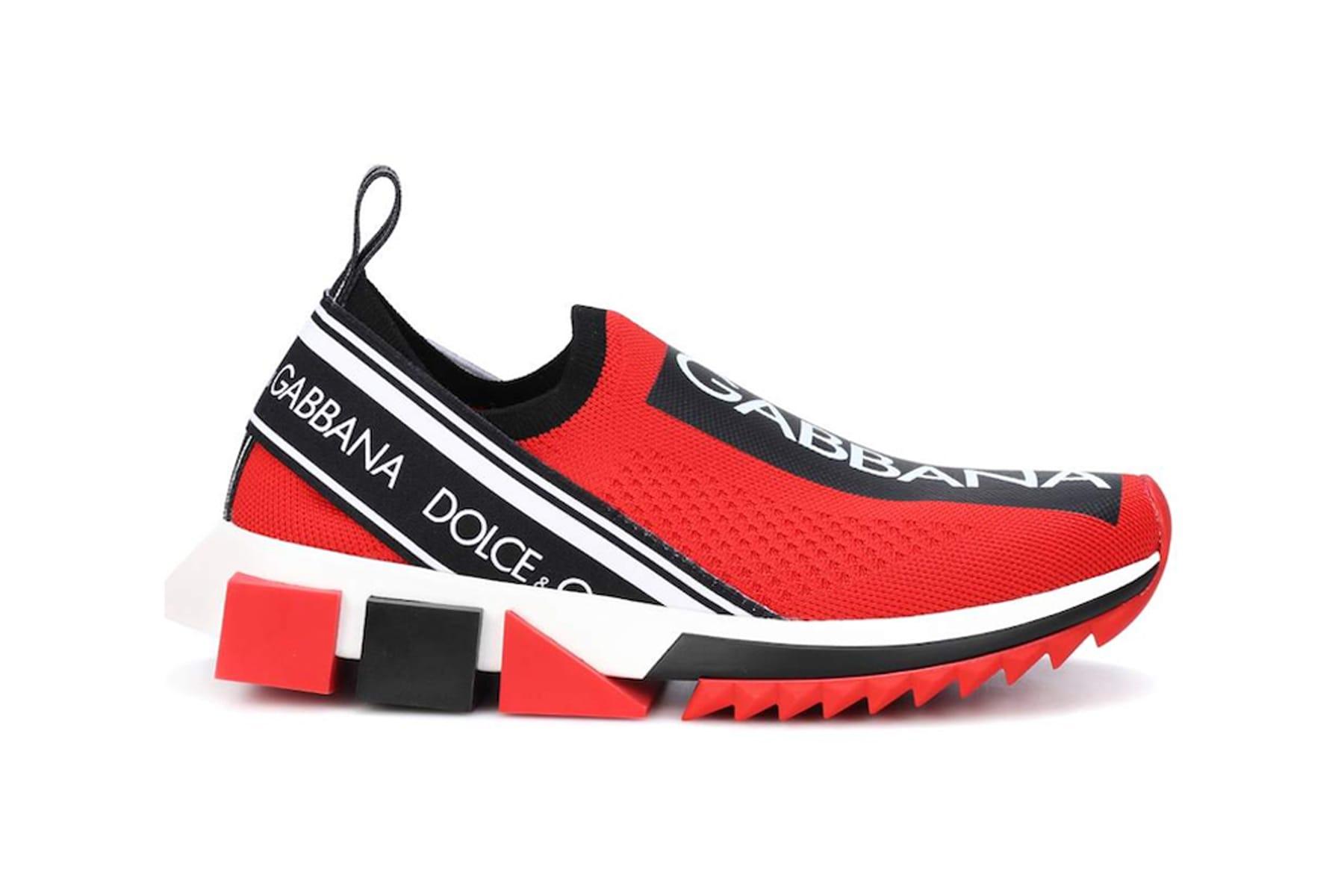 Dolce \u0026 Gabbana Sorrento Sneaker in Red
