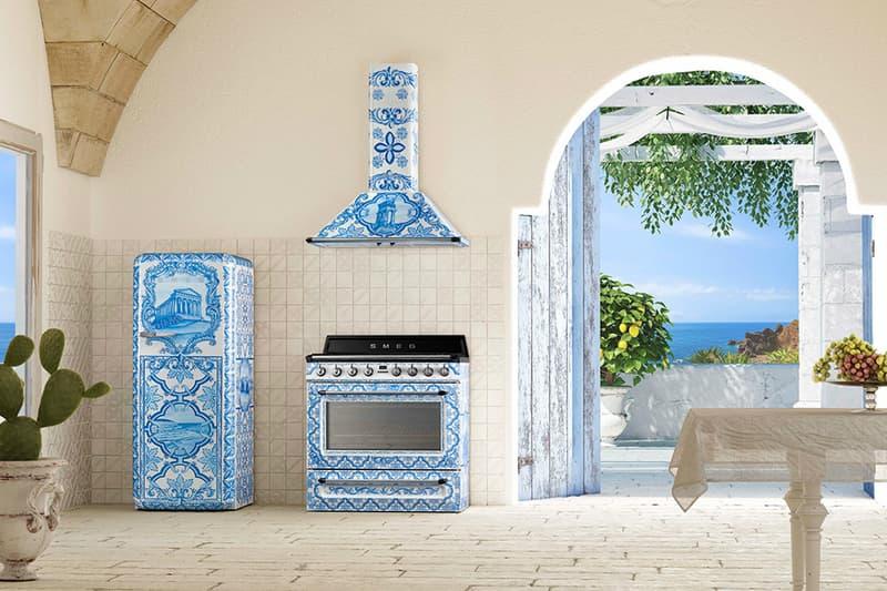 Dolce & Gabbana  Smeg  Sicilian Culture Kitchen Range