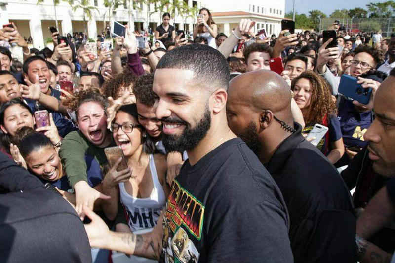 Drake Teases Alternate OVO School Uniforms for Miami High School