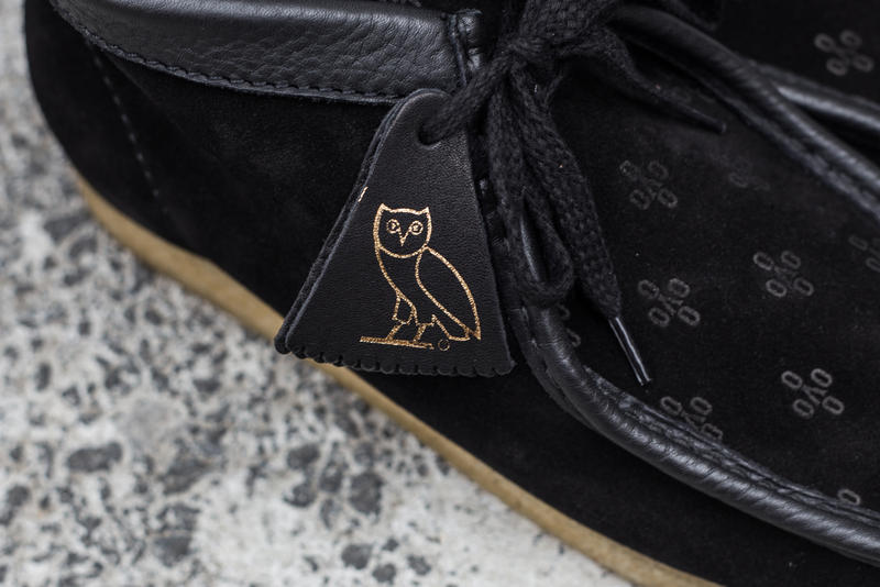 Drake OVO Clarks Wallabee Closer Look Collaboration For Sale Availability Pricing Release Info Desert Boots Date Hat Sweatshirt