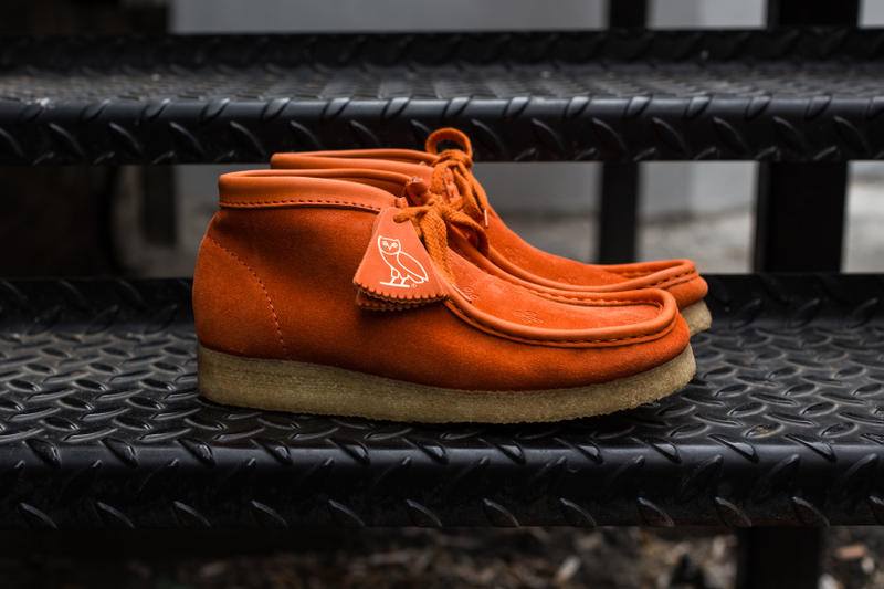 e72deb5c91c0 Drake OVO Clarks Wallabee Closer Look Collaboration For Sale Availability  Pricing Release Info Desert Boots Date