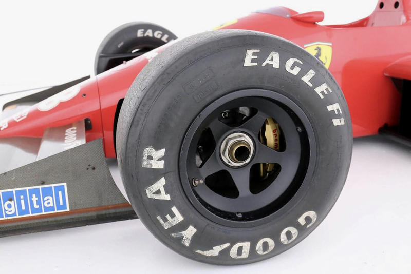 Enzo Ferrari Formula 1 Racing Car Available Auction Ferrari F1/87