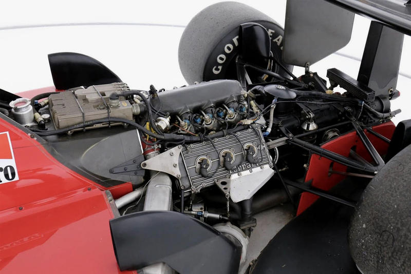 Enzo Ferrari Formula 1 Racing Car Available Auction Ferrari F1/87