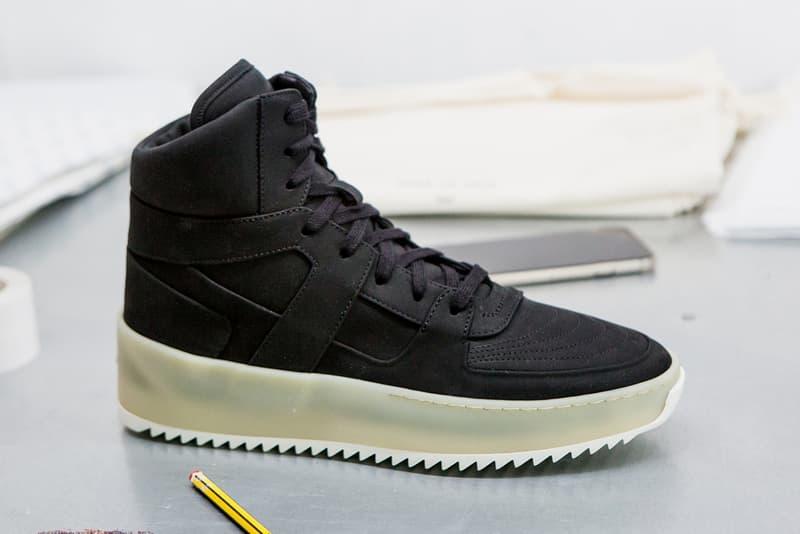 Fear of God Jungle Sneaker OG Gum jerry lorzeno may 2018 release date info drop sneakers shoes footwear