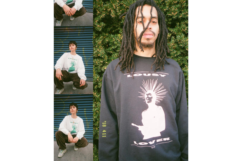 FELT Spring 2018 Collection Lookbook T-shirts hoodies sweatpants crewnecks