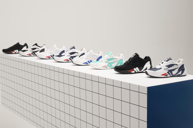 FILA Mindblower Apparel Shoe Collection Pop-Up Shop