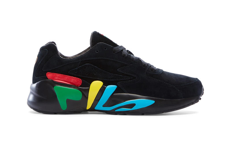 FILA Mindblower 2.0 Limited Edition Collaborations AKOMPLICE, ALUMNI + DIEM, ARCHIVE, ARTEK, ARTIFACT PUBLIC, AVENUE, BAD DADS CLUB, BURN RUBBER DETROIT, BURN RUBBER TAMPA, CHAPTER II, CLAWS$, COMMUNITY 54, 10 CORSO COMO, DEVICEONE, EMBELLISH, GOOD KICKS, GUADALUPE, HALL OF FAME, HAN CHOLO, HSTRY, HUNGRY EYES, INSTITUTION18B, JACK LEMKUS, KASINA, KICKSLOVE, KINFOLK, LAFAYETTE, LUCID FC, MAHA, MAINO, MARCUS TROY, PINK DOLPHIN, RAUNCHY, REGINA'S GROCERY, RIME, SALVIN'S, SHELFLIFE, SHELTA, SHINZO, SKIM MILK, SNEAKER JUNKIES, SNEAKER LAB, SNEAKER'S DELIGHT, SNKR INC, TRUTH SEEKER, WELL CONNECTED, WORKWELL