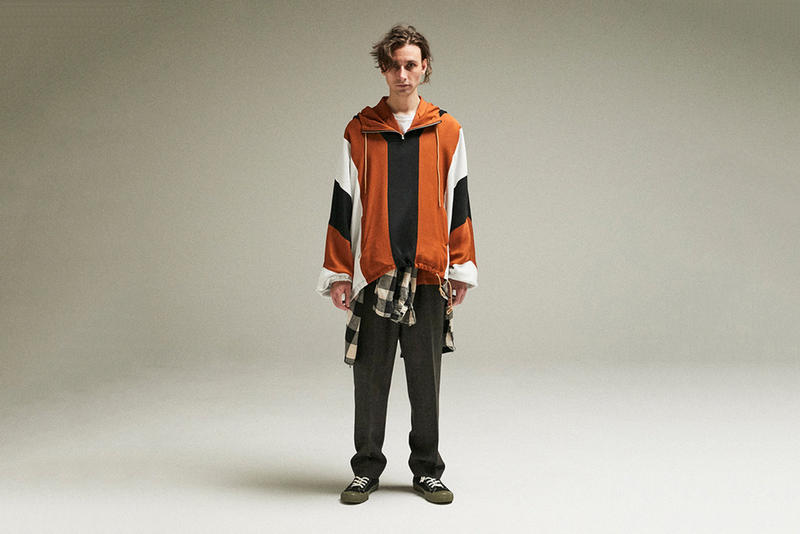 FILL THE BILL Fall/Winter 2018 Lookbook Vests Pullovers Sweatshirts Trousers Accessories For Sale Availability Pricing