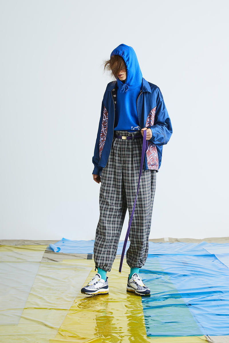 "F-lagstuf-f ""Bottled City"" Fall/Winter 2018 Lookbook Japanese fashion streetwear collection"