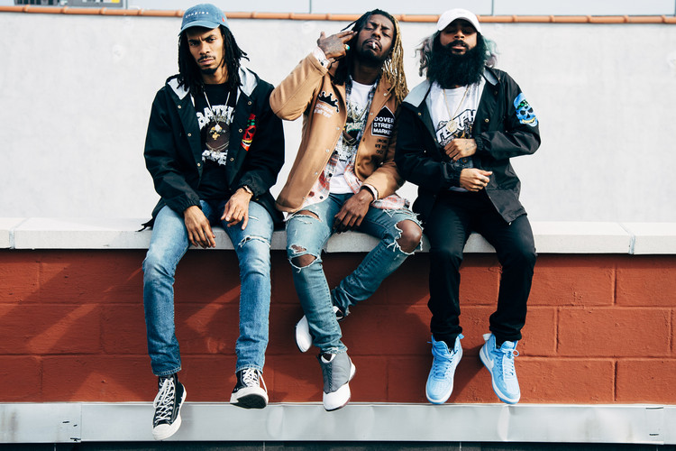 Flatbush ZOMBiES Murder Their Freestyle On Hot 97