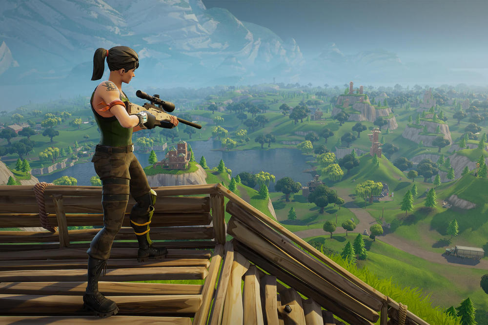 Fortnite Mobile 15 million USD dollars First Month App Store apple ios epic games transactions purchases activision