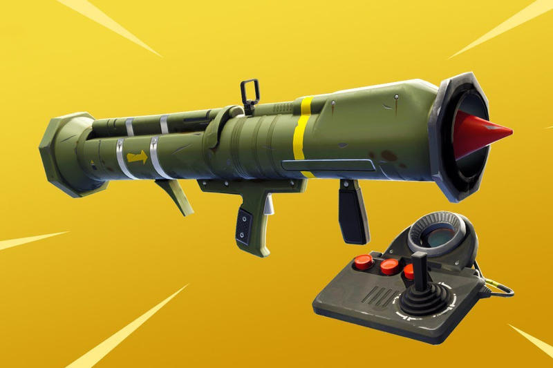 Fortnite Guided Missile Launcher Removed Epic Games