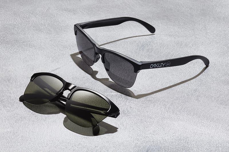 fragment design Oakley Frogskins Lite sunglasses april 28 2018 spring summer release date info drop collaboration hiroshi fujiwara