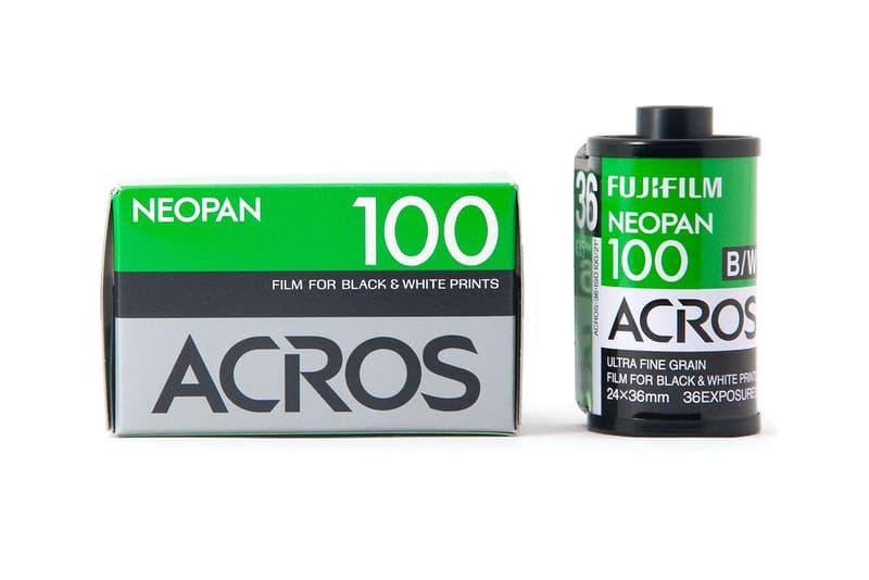 Fujifilm Discontinues Black & White Film Products
